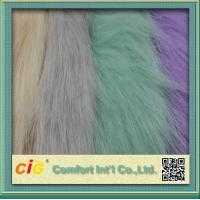 Best 83% Acrylic 17% Polyester High Pile Faux Fur Fabric For Garment And Funiture wholesale