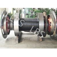 Best Offshore Windlass Winches / Drawworks Drum For Petroleum Drilling Rig wholesale