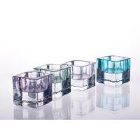 Best Square Tealight Candle Holder Glass Replacement For Decoration wholesale