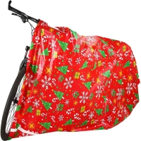 Buy cheap 2mils Gravure Printing Christmas Bike Bags 60x70 Inch With Gift Tags from wholesalers