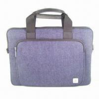 Buy cheap 17.3-inch Waterproof Laptop Computer Bag with Eco-friendly PU Handle, OEM and from wholesalers