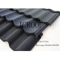 Best Wood Type Stone Coated Roofing Tiles Fire Resistance Shake Style 0.45mm Thickness wholesale