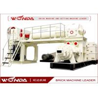 Best Red Sintered Clay Brick Making Machine Vacuum Extruder All Steel Material wholesale