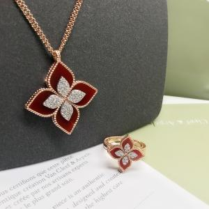 Best fashion jewelry wholesale 18k Diamond Necklace brand jewelry stores wholesale