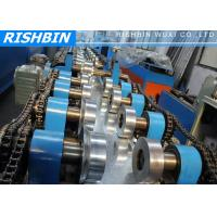 Quality 20 KW C Z Channel Purlin Roll Forming Line with 12 - 14 m / min Carbon Steel wholesale