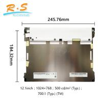 """Buy cheap AUO G121XTN01.0 IPS Industrial LCD Screen Panel 12.1"""" LVDS 3.3V 1024(2)×768(2) , from wholesalers"""