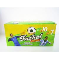 Best World Cup Multi Fruit Flavor CC Stick Candy With Tattoo Stick And Soccer Whistle wholesale