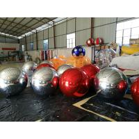 Best Funny Inflatable Disco Decorate Balloon With Reflect Effect , 0.18mm Helium PVC wholesale