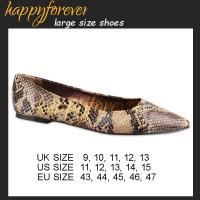 China Large Size Pointed Toe Flats - US11, 12, 13, 14, 15, UK9, 10, 11, 12, 13 EU43 44 45 46 47 on sale