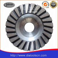 Best Light Weight 100-180mm Turbo Diamond Grinding Wheels With Aluminium Core wholesale