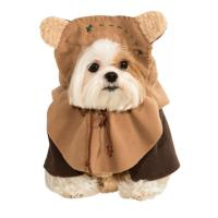 Best Pet Ewok Dog Costume / Custom Dog Hoodies 100% Polyester , X-Large wholesale