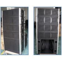 China Affordable DSP-controlled Active Line Array Speakers Black / White Color on sale