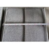 Best Durable 304 Stainless Steel Wire Mesh Demister Pad With Custom Shapes wholesale