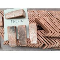 Best Culture Surface Clay Brick Tiles , Quoined Brick Corners For Indoor / Outdoor Wall wholesale