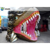 Best Vivid Dinosaur 5D Movie Theater With Red Luxury Chairs , Genuine Leather Fiberglass wholesale