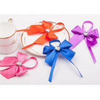 Best Customized Silver Hot Stamping Logo Paper Luxury Bag With Bowknot wholesale
