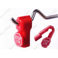 Best Red Color Display Hook Product Stop , Security Stop Lock 4mm - 8mm Hole Diameter wholesale