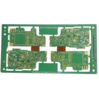Best 10 Layers Rigid Flex PCB For Car Audio Immersion Gold 1.32mm Thickness wholesale