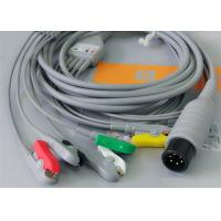 Best 5 Leads Ecg Snap Medical Cable , Medical Equipment / Medical Device Accessories wholesale
