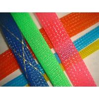 Cheap Flexible PET braided woven expandable cable protection Mesh Sleeves for for sale