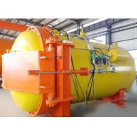 Best Automatic hot presser vulcanization tank autoclave with PLC system and cylindric and single drum structure wholesale