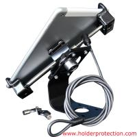 Best COMER anti-shoplift tablet pc stand mounting bracket with high security cable lock for retail shop wholesale
