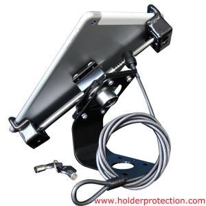 Best COMER tablet desk security display framework with cable locking mount wholesale