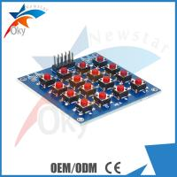 China 16  Keyboard PCB 4 x 4 LED Dot Matrix Module for Arduino , MCU / AVR / ARM Button Switch Panel Board on sale