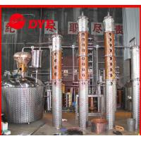 Best Scotch Whiskey Copper Distiller , Commercial Distilling Equipment wholesale