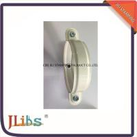 Quality Galvanised Steel Lighter Cast Iron Pipe Clamps With White Coating wholesale
