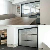 China switchable glass film supplier eb glass on sale