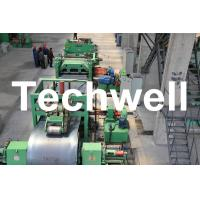 Best Metal Cutting / Steel Metal Cut To Length Machine Line With Uncoiler Leveling Cutting wholesale