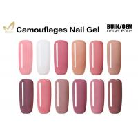 Best High Gloss Finish Camouflage Nail Gel For Gel Nails No Fade No Smudging wholesale