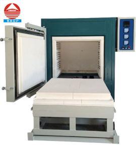 Best 1200C Electric high temperature heat treatment furnace car bottom furnace small ceramic kiln furnace wholesale