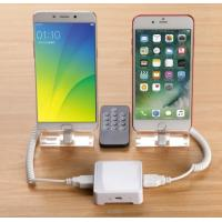 Best COMER alarm devices 2 port anti-theft display security mobile phone stand with charging wholesale