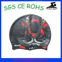 Best wholesale silicone swimming cap for men with custom logo wholesale