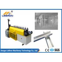 Best Metal Stud And Track Roll Forming Machine , High Speed Metal Stud Making Machine wholesale