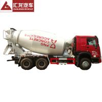 China Self Loading HOWO 10 CBM 6X4 Concrete Mixer Truck Cement Mixer Truck For Sale on sale