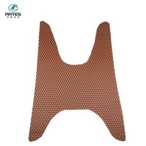 Best Eco - Friendly Universal Custom Floor Mats Non Slip Waterproof For Motorcycle wholesale