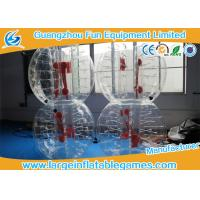 China Top TPU Inflatable Bubble Ball Soccer Bumper Kids / Adults Body Zorb Football Suit on sale