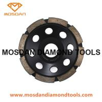 Buy cheap Single Row Segment Cup Wheel for Stone Grinding from wholesalers