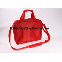 Best Red 420D polyester document briefcase bag for ladies and Men wholesale