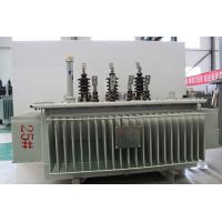 China Long Life Amorphous Alloy Transformer / 100 Kva Transformer Low Partial Discharge on sale