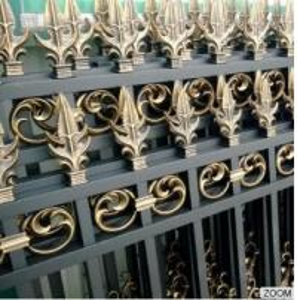 Best Outdoor Aluminum Garden Fencing Custom Designed Decorative Security and Privacy Luxury wholesale