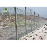 China Sturdy 358 Security Fence / Galvanised Security FencingFor Factory Machine Guards on sale