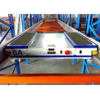 Quality Anti Rust Adjustable Durable Shuttle Pallet Racking With Pallet Runner wholesale