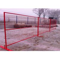 Best Temporary Outdoor Fence / Security Fence Canada Durable And Well Structured wholesale