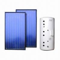Best Solar Water Heating System with 300L Tank and Flat Plate Collector wholesale