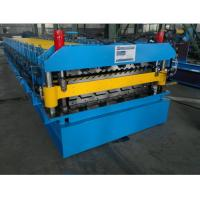 Double Layer Roll Forming Machine for Corrugated Roof and IBR Roof in One Line
