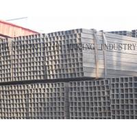 Buy cheap 20# Q195 Q235 Carbon Steel Rectangular Tubing , Cold Drawing Thin Wall Steel Pipe from wholesalers